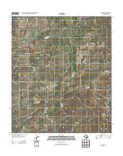 Benoit Texas Historical topographic map, 1:24000 scale, 7.5 X 7.5 Minute, Year 2012