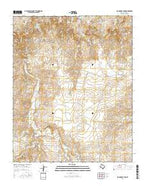 Big George Tank Texas Current topographic map, 1:24000 scale, 7.5 X 7.5 Minute, Year 2016 from Texas Map Store