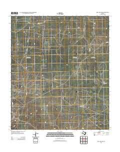 Big Lake SE Texas Historical topographic map, 1:24000 scale, 7.5 X 7.5 Minute, Year 2012