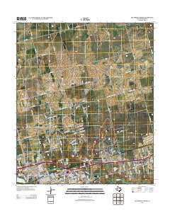 Big Spring North Texas Historical topographic map, 1:24000 scale, 7.5 X 7.5 Minute, Year 2012