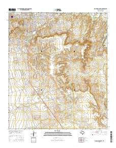 Big Spring South Texas Current topographic map, 1:24000 scale, 7.5 X 7.5 Minute, Year 2016