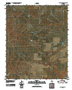 Boiling Spring Texas Historical topographic map, 1:24000 scale, 7.5 X 7.5 Minute, Year 2010
