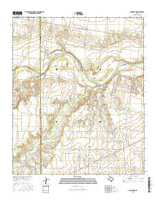 Bomarton Texas Current topographic map, 1:24000 scale, 7.5 X 7.5 Minute, Year 2016