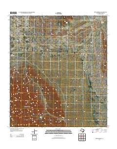 Bone Spring Texas Historical topographic map, 1:24000 scale, 7.5 X 7.5 Minute, Year 2012