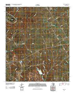 Bono Texas Historical topographic map, 1:24000 scale, 7.5 X 7.5 Minute, Year 2010