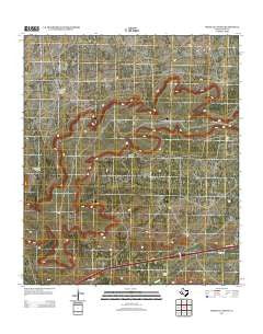 Bootleg Canyon Texas Historical topographic map, 1:24000 scale, 7.5 X 7.5 Minute, Year 2012