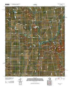 Bradshaw Texas Historical topographic map, 1:24000 scale, 7.5 X 7.5 Minute, Year 2010