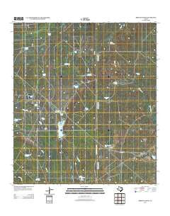 Briscoe Ranch Texas Historical topographic map, 1:24000 scale, 7.5 X 7.5 Minute, Year 2013
