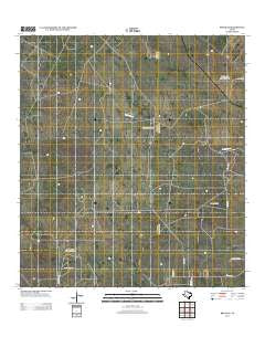 Bruni SE Texas Historical topographic map, 1:24000 scale, 7.5 X 7.5 Minute, Year 2013