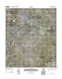 Buena Vista Texas Historical topographic map, 1:24000 scale, 7.5 X 7.5 Minute, Year 2012