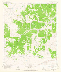 Buffalo Well NW Texas Historical topographic map, 1:24000 scale, 7.5 X 7.5 Minute, Year 1963