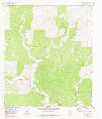 Buffalo Well SE Texas Historical topographic map, 1:24000 scale, 7.5 X 7.5 Minute, Year 1963