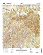 Bulverde Texas Current topographic map, 1:24000 scale, 7.5 X 7.5 Minute, Year 2016 from Texas Map Store