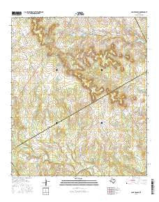 Camp Branch Texas Current topographic map, 1:24000 scale, 7.5 X 7.5 Minute, Year 2016