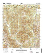 Camp Bullis Texas Current topographic map, 1:24000 scale, 7.5 X 7.5 Minute, Year 2016 from Texas Map Store