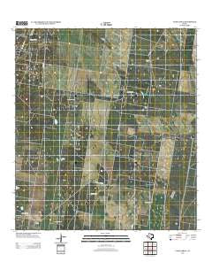 Camp Garcia Texas Historical topographic map, 1:24000 scale, 7.5 X 7.5 Minute, Year 2012