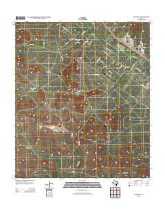 Carlsbad Texas Historical topographic map, 1:24000 scale, 7.5 X 7.5 Minute, Year 2012