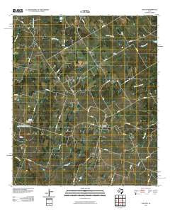 Carlton Texas Historical topographic map, 1:24000 scale, 7.5 X 7.5 Minute, Year 2010
