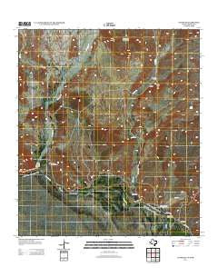 Castolon Texas Historical topographic map, 1:24000 scale, 7.5 X 7.5 Minute, Year 2012