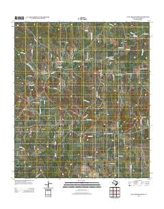 Cave Creek School Texas Historical topographic map, 1:24000 scale, 7.5 X 7.5 Minute, Year 2012