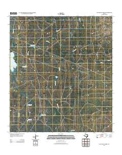 Cayetano Creek Texas Historical topographic map, 1:24000 scale, 7.5 X 7.5 Minute, Year 2012