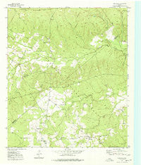Centralia Texas Historical topographic map, 1:24000 scale, 7.5 X 7.5 Minute, Year 1950