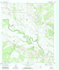 Charco Texas Historical topographic map, 1:24000 scale, 7.5 X 7.5 Minute, Year 1963