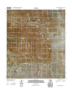 Cheyenne Draw Texas Historical topographic map, 1:24000 scale, 7.5 X 7.5 Minute, Year 2012