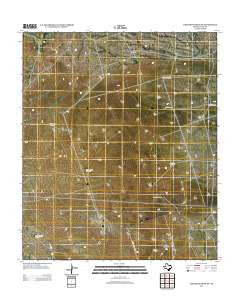 Cheyenne Draw SW Texas Historical topographic map, 1:24000 scale, 7.5 X 7.5 Minute, Year 2012