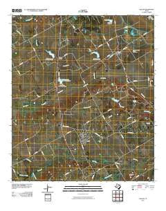 Chilton Texas Historical topographic map, 1:24000 scale, 7.5 X 7.5 Minute, Year 2010