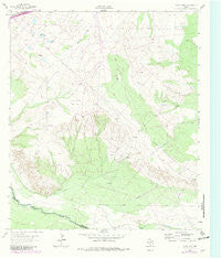 China Lake Texas Historical topographic map, 1:24000 scale, 7.5 X 7.5 Minute, Year 1963