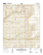 China Grove Texas Current topographic map, 1:24000 scale, 7.5 X 7.5 Minute, Year 2016 from Texas Map Store