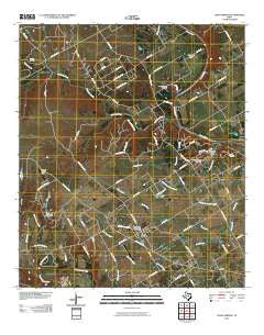China Springs Texas Historical topographic map, 1:24000 scale, 7.5 X 7.5 Minute, Year 2010