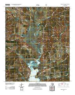 Chireno South Texas Historical topographic map, 1:24000 scale, 7.5 X 7.5 Minute, Year 2010