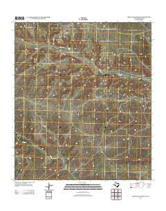 Circle Dot Ranch NE Texas Historical topographic map, 1:24000 scale, 7.5 X 7.5 Minute, Year 2012