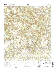 Cisco South Texas Current topographic map, 1:24000 scale, 7.5 X 7.5 Minute, Year 2016
