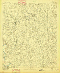 Cleburne Texas Historical topographic map, 1:125000 scale, 30 X 30 Minute, Year 1891