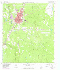 Cleveland Texas Historical topographic map, 1:24000 scale, 7.5 X 7.5 Minute, Year 1958
