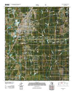 Cleveland Texas Historical topographic map, 1:24000 scale, 7.5 X 7.5 Minute, Year 2010