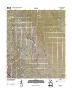 Clint SE Texas Historical topographic map, 1:24000 scale, 7.5 X 7.5 Minute, Year 2012