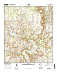 Club Hollow Texas Current topographic map, 1:24000 scale, 7.5 X 7.5 Minute, Year 2016