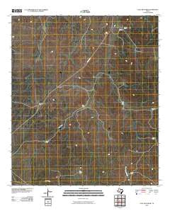 Coal Kiln Draw Texas Historical topographic map, 1:24000 scale, 7.5 X 7.5 Minute, Year 2010