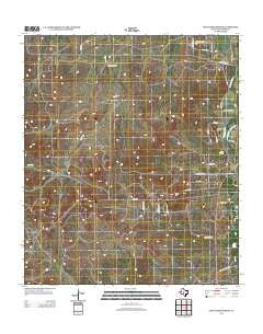 Cold Creek Spring Texas Historical topographic map, 1:24000 scale, 7.5 X 7.5 Minute, Year 2012