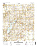 Colorado City SE Texas Current topographic map, 1:24000 scale, 7.5 X 7.5 Minute, Year 2016 from Texas Map Store