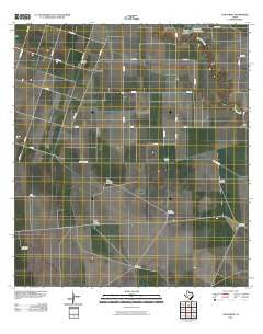 Concordia Texas Historical topographic map, 1:24000 scale, 7.5 X 7.5 Minute, Year 2010