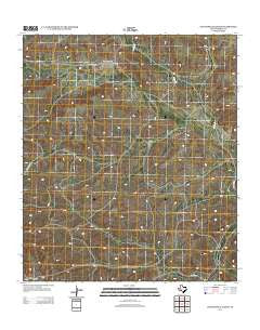 Continental Ranch Texas Historical topographic map, 1:24000 scale, 7.5 X 7.5 Minute, Year 2012