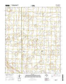 Corry Texas Current topographic map, 1:24000 scale, 7.5 X 7.5 Minute, Year 2016