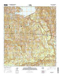 Cowl Spur Texas Current topographic map, 1:24000 scale, 7.5 X 7.5 Minute, Year 2016