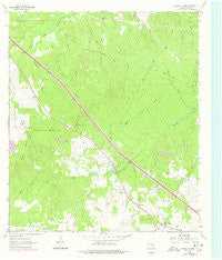 Crabbs Prairie Texas Historical topographic map, 1:24000 scale, 7.5 X 7.5 Minute, Year 1963