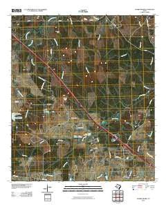 Crabbs Prairie Texas Historical topographic map, 1:24000 scale, 7.5 X 7.5 Minute, Year 2010